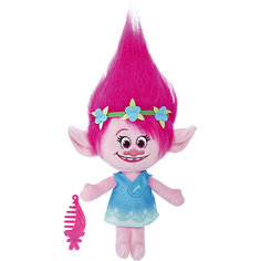 """Мягкая игрушка """"Тролли"""" - Говорящая Поппи, звук, 35.5 см Hasbro"""