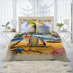 Постельное белье Surf Евро, Mona Liza, нав. 70*70 и 50*70