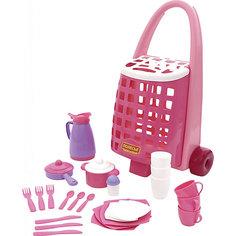 Набор детской посуды, 31 элемент, Полесье