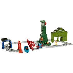 """Переносной игровой набор Томас и его друзья """"Крэнки на причале"""" Mattel"""