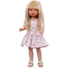 Кукла Карлотта, блондинка с челкой, Лето Кантри, Vestida de Azul