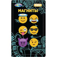 """Centrum Набор магнитов 6 штук """"Смайлы"""""""