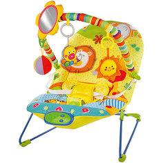 """Кресло-качалка Жирафики """"Сафари"""" с зеркальцем, вибрацией и музыкой"""