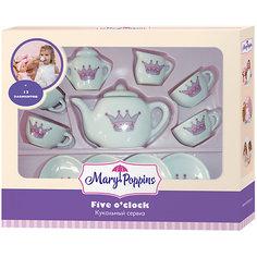 """Набор игрушечной посуды Mary Poppins """"Five Oclock - Корона"""", 13 предметов"""
