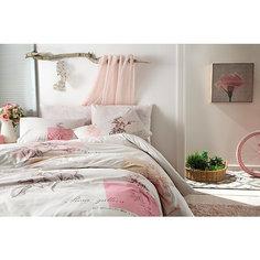 Постельное белье 1,5 сп. Betsy, Ranforce, TAC, розовый