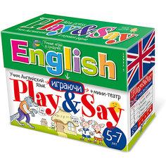 """Учим английский язык """"Play&Say"""", уровень 1 АЙРИС пресс"""