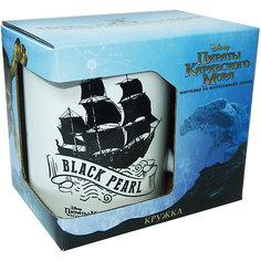 """Кружка """"Пираты Карибского Моря. Черная Жемчужина"""" в подарочной упаковке, 350 мл., Disney"""