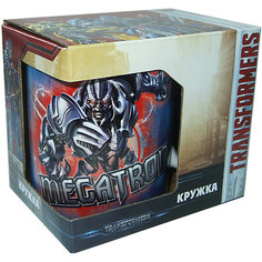"""Кружка Transformers """"Последний рыцарь. Противостояние"""" в подарочной упаковке, 350 мл. МФК профит"""