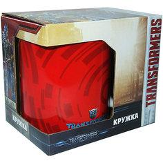 """Кружка Transformers """"Роботы под прикрытием. Team up"""" в подарочной упаковке, 350 мл. МФК профит"""