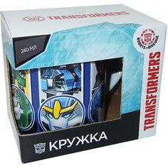"""Кружка Transformers """"Роботы под прикрытием"""" в подарочной упаковке, 240 мл, МФК профит"""