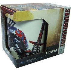 """Кружка Transformers """"Роботы под прикрытием"""" в подарочной упаковке, 350 мл. МФК профит"""