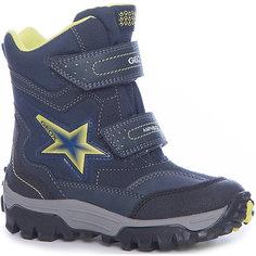 Ботинки со светодиодами для мальчика Geox