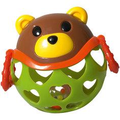 "Погремушка-неразбивайка Baby Trend ""Медведь"""