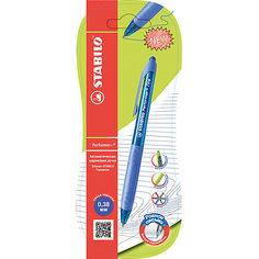 Ручка шариковая PERFORMER+ 1шт синяя 0,3мм Stabilo
