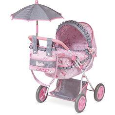 Коляска для куклы с сумкой и зонтиком DeCuevas Мария, 65 см