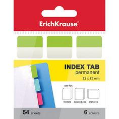 Erich Krause Архивные закладки с клеевым краем 6х22х25мм