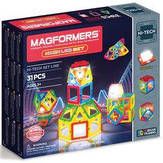 Магнитный конструктор 709007 Neon Led set, MAGFORMERS