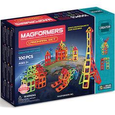 Магнитный конструктор 703008 Landmark set, MAGFORMERS