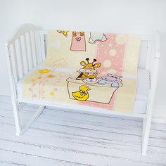 Плед- покрывало Micro Flannel, 100х118 см., Baby Nice, розовый