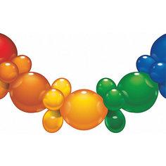 Гирлянда из шаров, 1.75 м., 25 шаров, блистер Herlitz