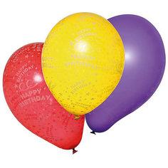 """Шары воздушные """" Happy Birthday"""", 10 шт Herlitz"""
