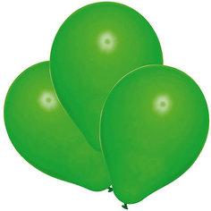 Шары воздушные, 25 шт, зеленые Herlitz
