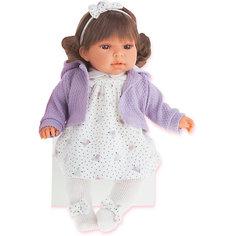 Кукла Лорена в фиолетовом, 37 см, Munecas Antonio Juan