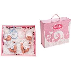 Кукла Пепита двойняшки в коробке, 21 см, Munecas Antonio Juan