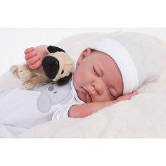 Кукла Реборн младенец Рамон, спящий, 40см, Munecas Antonio Juan