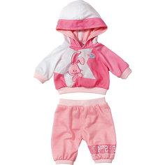 Одежда для спорта Зайчик, темно-розовый, BABY born Zapf Creation