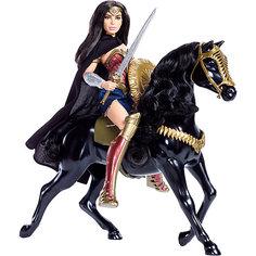 Игровой набор с куклой Воительница с лошадью Mattel