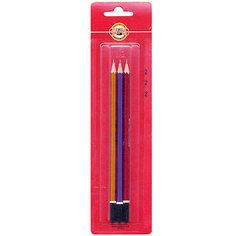 KOH-I-NOOR Набор чернографитных карандашей SCALA, 3 шт