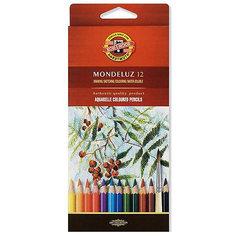 KOH-I-NOOR Набор карандашей акварельных MONDELUZ, 12 цв