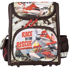Школьный ранец Kinderline Самолеты, без наполнения
