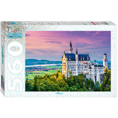"Пазл, 560 деталей, ""Бавария. Замок"", Step Puzzle"