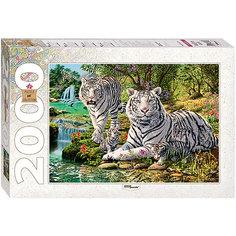"""Пазл, 2000 деталей, """"Сколько тигров?"""", Step Puzzle"""