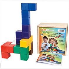 Кубики для всех, (коробка фанера), Световид