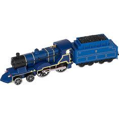 Паровозик Roadsterz синий с вагоном, HTI