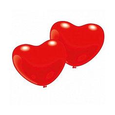 """10 фигурных шариков """"Сердечко"""" Everts"""