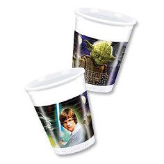 Стаканы пластиковые «Звездные Войны» 200 мл., 8 штук Procos