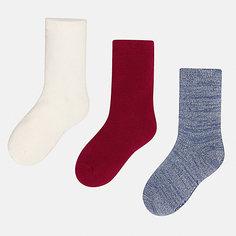 Носки (3 пары) для девочки Mayoral