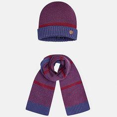 Комплект: шапка и шарф для мальчика Mayoral