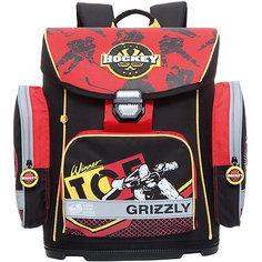 Ранец Grizzly без наполнения, черный
