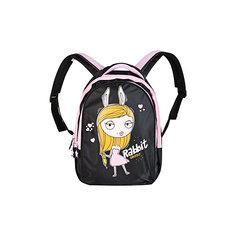 Рюкзак Grizzly, черный-розовый
