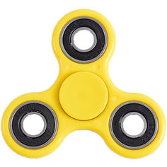 Спиннер для рук, желтый, металлический подшипник, Fidget Spinner