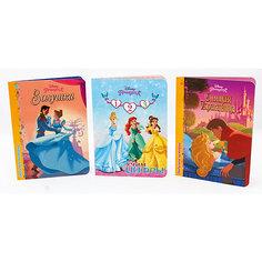 "Комплект книг Disney  ""Золушка, Спящая красавица, Учим цифры"" Проф Пресс"