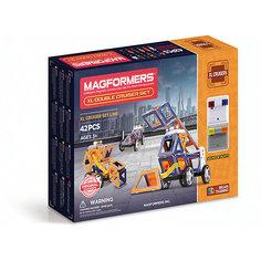 Магнитный конструктор XL Double Cruiser Set 42, MAGFORMERS