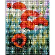 Мозаичная картина на холсте 20х25см Полдень Белоснежка