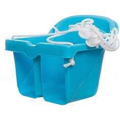 Качели литые для малышей, КАССОН, синий