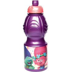 Бутылка пластиковая 400 мл., Тролли Stor